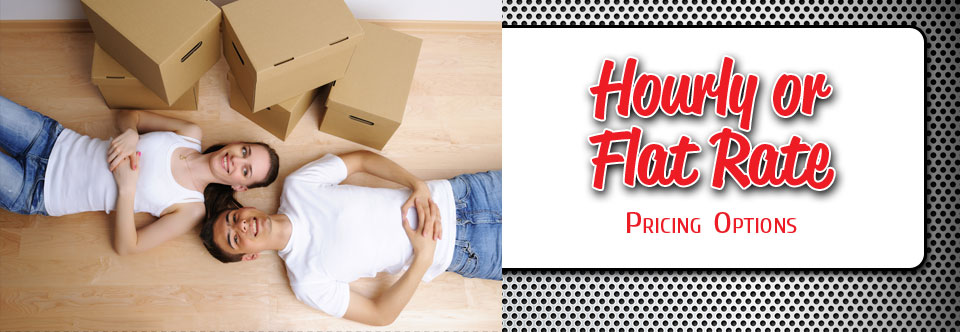 moving price options - hourly or flat rate
